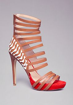 Bebe Skylar Strappy Sandals:,I want these in my life