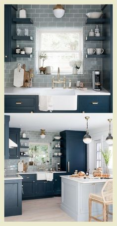 56 best small kitchen remodel ideas beautiful and efficient you must try 16 - Je. 56 best small kitchen remodel ideas beautiful and efficient you must try 16 - Je. Kitchen Ikea, Home Decor Kitchen, Home Kitchens, Kitchen Cabinets, Kitchen Counters, Small Kitchens, Soapstone Kitchen, Kitchen Islands, Kitchen Hacks