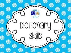 Dictionary Skills Pinterest Board