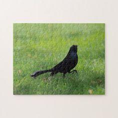 Bird Photo Puzzle. Jigsaw Puzzle -nature diy customize sprecial design