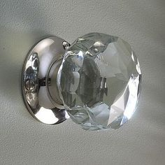Genial Glass Door Knobs Glass Door Knobs     Love This   Not Brass!