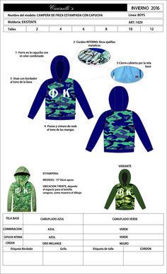artículo 1029.ads campera de friza estampada con capucha de nenedel 2 al 12