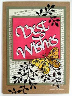 Best Wishes | Elizabeth Craft Designs
