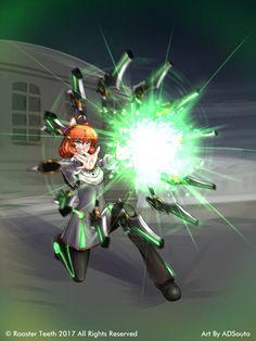RWBY:CR - Energy Beam by ADSouto Rwby Penny, Sun Silhouette, Rwby Weiss, Rwby Volume, Rwby Anime, Road Rage, Epic Art, Weapon Concept Art, Big Hugs
