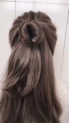 greasy hairstyle / hairstyle greasy hair _ hairstyle greasy hair style _ hairstyle greasy hair messy buns _ hairstyle for greasy hair _ hairstyle for greasy hair easy _ hairstyle to hide greasy hair _ hairstyle for greasy hair quick _ greasy hairstyle Bun Hairstyles For Long Hair, Braids For Long Hair, Girl Hairstyles, Braided Hairstyles, Long Hair Buns, Medium Hair Ponytail, Straight Hairstyles For Long Hair, Waitress Hairstyles, Korean Hairstyles Women