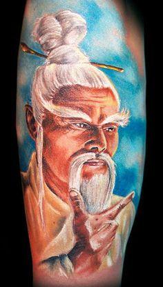 Realism Portraits Tattoo by Randy Engelhard | Tattoo No. 3890