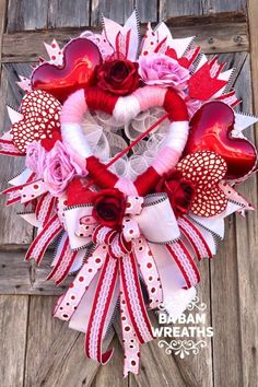 Sharing a Valentine wreath created by Trendy Tree customer, Ba Bam Wreaths, check out her Etsy shop. Shop Trendy Tree online for wreath making supplies and seasonal decoration. Valentine Tree, Valentine Day Wreaths, Valentines Day Decorations, Valentine Day Crafts, Holiday Wreaths, Holiday Crafts, Printable Valentine, Homemade Valentines, Valentine Ideas