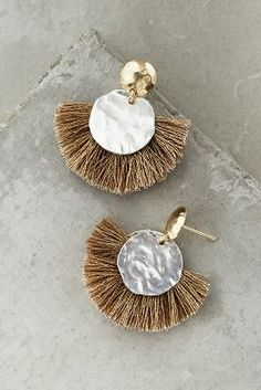 Gorgeous Statement Tassel Earrings