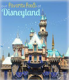 Foods at Disneyland