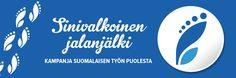 Kampanjan päätavoitteena on lisätä suomalaisten tuotteiden myyntiä, kertoa suomalaisesta suunnittelusta ja työstä tuotteiden taustalla sekä helpottaa kuluttajien mahdollisuuksia valita tuotteita, jotka edistävät suomalaista työtä. Company Logo, Logos, News, Logo