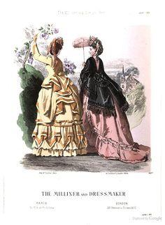June 1870, The Milliner and Dressmaker