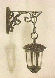 Tudor like tutorials: lamp  bedroom table, bench, pottery