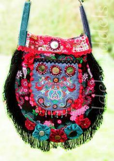 Tropfentasche by Knuddelwuddels, pattern by farbenmix.de, #taschenspieler2 #sewing #bag #tasche #nähen