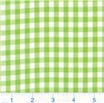 Woven 1/4 Gingham Lime Green