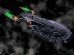 Excalibur-class, i love this ship but i never understood why the nacelles are green. Star Trek Fleet, Star Trek Borg, Star Trek Ships, Star Wars, Spaceship Art, Spaceship Concept, Star Trek Starships, Star Trek Enterprise, Sci Fi Spaceships
