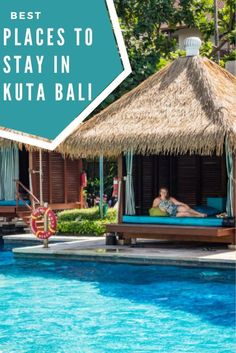 Best Hotels Kuta Beach Bali. From budget to luxury, boutique to foodie orientated - these hotels will give you wanderlust for your next vacation