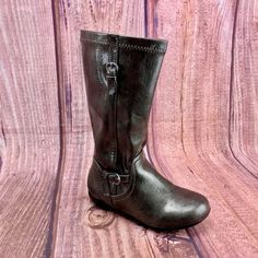 Girls Boots Nordstrom shiny Silver Pewter Boots Buckle design side zip up Girls Shoes, Pewter, Cowboy Boots, Zip Ups, Nordstrom, Silver, Kids, Accessories, Ebay