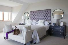 th2 Designs.© Master Bedroom, Luxury Styling, Ottoman, Home Decor, Interior Design