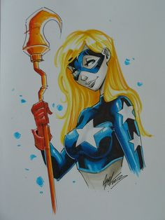 Stargirl (Courtney Whitmore) by Martin Abel Comic Art