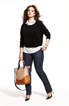 I love the look and the bag. Plus Size