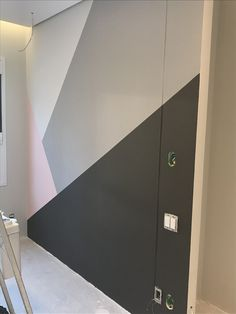 Geometric wall, parede geometrica, colors, tinta suvinil