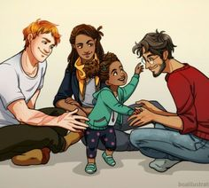 Rose and the Golden trio.