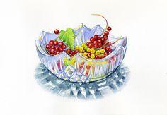 Ознакомьтесь с моим проектом @Behance: «Summer berries» https://www.behance.net/gallery/54463589/Summer-berries