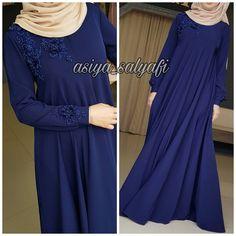 Abaya Fashion, Muslim Fashion, Modest Fashion, Fashion Outfits, Burqa Designs, Abaya Designs, Hijab Style, Hijab Chic, Mint Prom Dresses