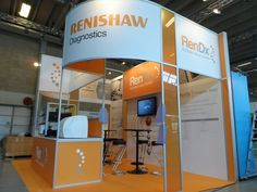 Renishaw Diagnostics Exhibition Stand ECCMID 2015 Copenhagen