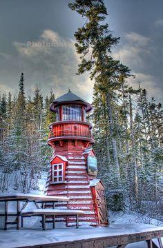 Le phare de Lebel-sur-Quévillon, Québec