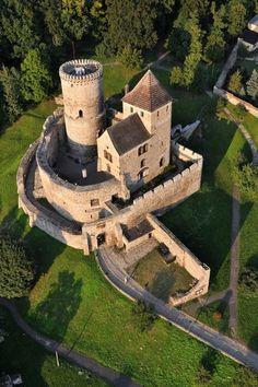 """Zamek w Będzinie, Polska (Będzin Castle, Poland) """" The Bedzin Castle is a castle in Bedzin in southern Poland. The stone castle dates to 14th century, and is predated by a wooden fortification that..."""