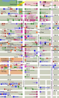 printable+shopping+map+of+new+york+city | This route is pretty self-explanatory. It's an iconic New York ...