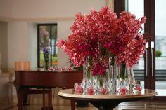 Four Seasons Bosphorus lobby #flower arrangement