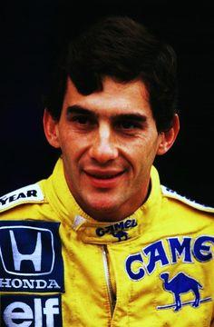 Ayrton Senna - Lotus - 1987