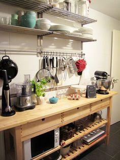 Cocina by Le Chouchou, via Flickr  Ikea Norden