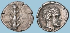 G766 A Rare and Magnificent Greek Silver Tetradrachm of Barce (Kyrenaika), a Masterpiece of North African Greek Numismatics | Flickr: Intercambio de fotos