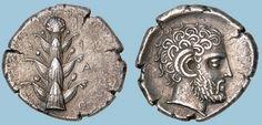 G766 A Rare and Magnificent Greek Silver Tetradrachm of Barce (Kyrenaika), a Masterpiece of North African Greek Numismatics | Flickr: Intercambio de fotos