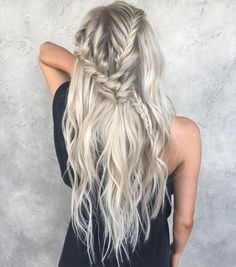 "3,642 Likes, 17 Comments - Chrissy Rasmussen (@hairby_chrissy) on Instagram: ""BlonDay Braid 
