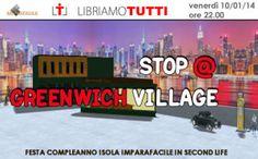 10/01/14 – STOP @ GREENWICH VILLAGE: FESTA DI COMPLEANNO DELL'ISOLA IMPARAFACILE