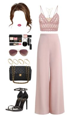 """""""Sin título #931"""" by ale-2895 ❤ liked on Polyvore featuring Zimmermann, Jonathan Simkhai, Yves Saint Laurent, Chanel, River Island, Lime Crime, Bobbi Brown Cosmetics, ASOS and MICHAEL Michael Kors"""