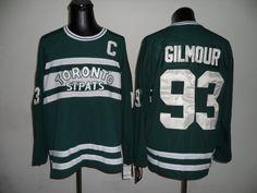 Toronto Maple Leafs 93 Doug GILMOUR CCM Green Jersey