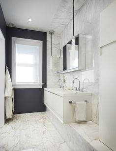 14 Marble Floor Bathroom Design Marble Floor Bathroom Design - Bathroom Design Idea 5 Ways To Add Marble To Your Bathroom Small bathroom ideas 30 Marble Bathroom Design Ideas Styling. Marble Bathroom Floor, White Marble Bathrooms, White Vanity Bathroom, Bathroom Flooring, Modern Bathroom, Small Bathroom, Marble Floor, Bathroom Ideas, White Tiles