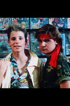 The Lost Boys, one of my fav movies of all times...with one of my fav actors...Corey Feldman