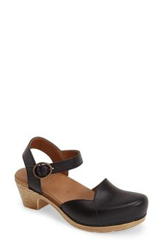 Free shipping and returns on Dansko 'Maisie' Ankle Strap Leather Pump (Women) at Nordstrom.com. A curved topline and sleek ankle strap call attention to a burnished leather pump that delivers everyday sophistication along with fuss-free signature comfort.