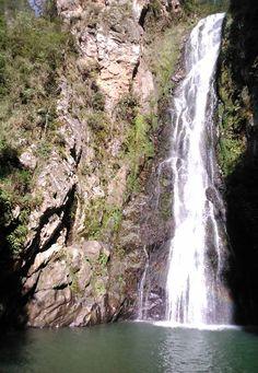 Salto de Aguas Blancas, Parque Nacional Juan Bautista Pérez Rancier, Valle Nuevo, Constanza, R.D.