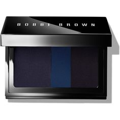 Bobbi Brown Limited Edition Intense Pigment Liner  Midnight ($36) ❤ liked on Polyvore featuring beauty products, makeup, eye makeup, beauty, cosmetics, eyeshadow, fillers, palette makeup, holiday makeup and evening makeup