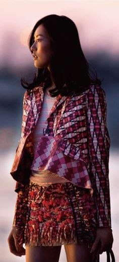 Liu Wen ♥ Elle SUPER LOVE THIS LOOK