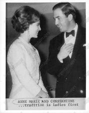 1967 Queen Anne-Marie of Greece Constantine Press Photo