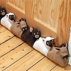 Farmyard Animals Draught Excluder