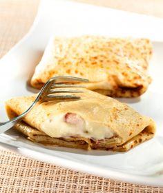 Recette crêpes au comté et jambon : une recette simple à préparer, rapide et gourmande déposée par Fromage.